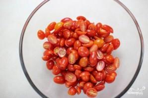 Cалат из помидоров со сметаной - фото шаг 1