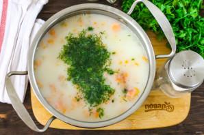 Сливочный суп с горбушей - фото шаг 5