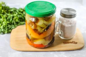 Жареный болгарский перец в маринаде - фото шаг 6