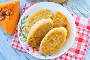 Жареные пирожки с тыквой - фото шаг 12