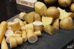 Пюре из картофеля и пастернака - фото шаг 1