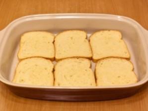 Горячие бутерброды с окороком, помидорами и яйцами - фото шаг 3