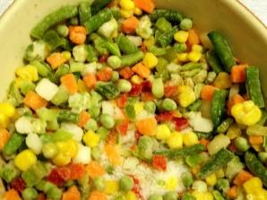Тефтели с овощами в сливках. - фото шаг 2