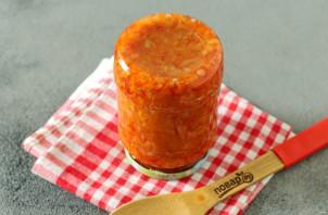 Капуста с томатной пастой на зиму - фото шаг 8