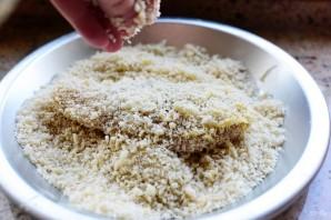 Куриная грудка в хрустящей панировке с сыром - фото шаг 5