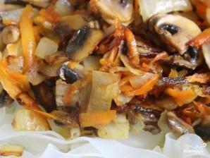 Салат с кальмарами и шампиньонами - фото шаг 4
