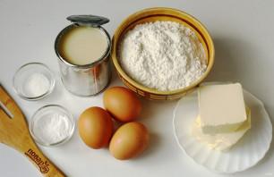 Коврижка на сгущенном молоке - фото шаг 1