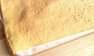 Рулет с яблочным повидлом - фото шаг 5
