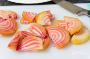 Салат из фенхеля, апельсина и свеклы - фото шаг 1