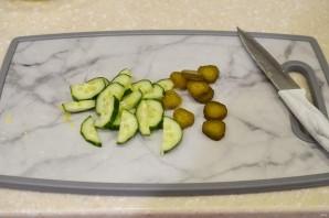 Селедочный салат с горчицей - фото шаг 2