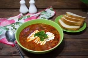 Суп солянка сборная мясная - фото шаг 11