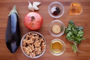 Баклажаны в ореховом соусе - фото шаг 1