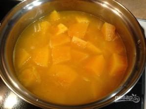 Тыквенный суп с карри - фото шаг 5