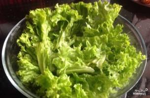 Салат с раковыми шейками - фото шаг 1
