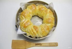 Итальянский хлеб с сыром - фото шаг 12