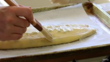 Штрудель с сыром и изюмом - фото шаг 11