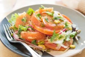 Салат из фенхеля, апельсина и свеклы - фото шаг 6