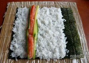 Суши запеченные - фото шаг 4