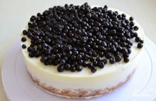 Черничный торт бисквитный - фото шаг 13