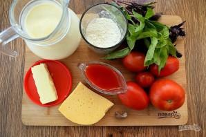 Пирог с помидорами и базиликом - фото шаг 4