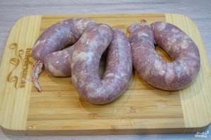 Колбаски под соусом - фото шаг 1