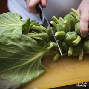 Жареная брюссельская капуста - фото шаг 1