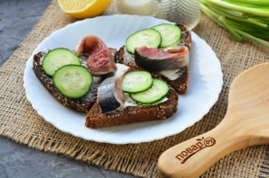 Норвежские бутерброды - фото шаг 6