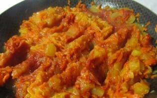 Кабачковая икра с морковью и томатной пастой - фото шаг 6