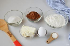 Мягкое шоколадное печенье - фото шаг 1