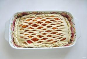 Дрожжевой пирог с абрикосами - фото шаг 9