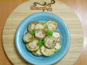 Жареные кабачки кружочками с чесноком - фото шаг 6