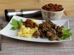 Мясо с арахисовой пастой по мотивам тигадегены - фото шаг 4