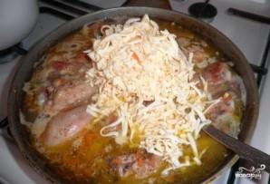Куриные ножки в сырном соусе - фото шаг 6
