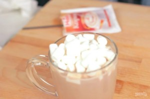 Мятное какао с маршмеллоу - фото шаг 3