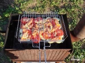 Шашлык из лосося - фото шаг 4