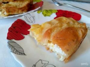 Болгарский пирог с творожной начинкой  - фото шаг 14