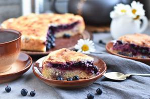 Пирог с ягодной начинкой - фото шаг 14
