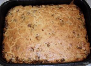 Пирог с капустой и мясом - фото шаг 8