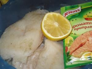 Рыба под белым соусом - фото шаг 2