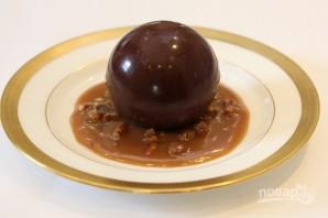 Шоколадная сфера - фото шаг 7
