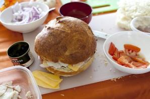 Быстрые бутерброды на природу - фото шаг 3