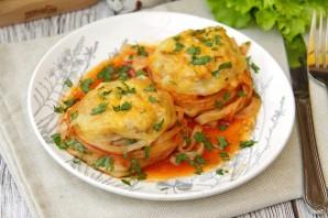 Тальятелле под сыром в томатном соусе - фото шаг 8