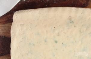 Картофельные уголки с сыром и зеленым луком - фото шаг 7