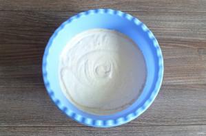 Крем с халвой для торта - фото шаг 6