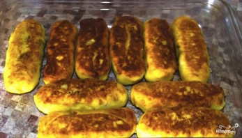 Картофельные рулеты в духовке - фото шаг 4