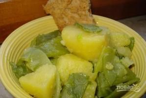 Зеленая фасоль с картофелем - фото шаг 4