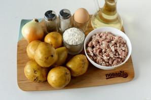 Белорусские драники с мясом - фото шаг 1