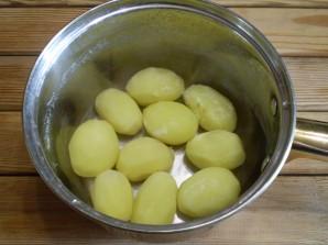 Картошка с салом на шпажках - фото шаг 5