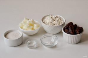 Постное печенье с финиками - фото шаг 1