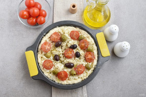 Греческий пирог с козьим сыром - фото шаг 7